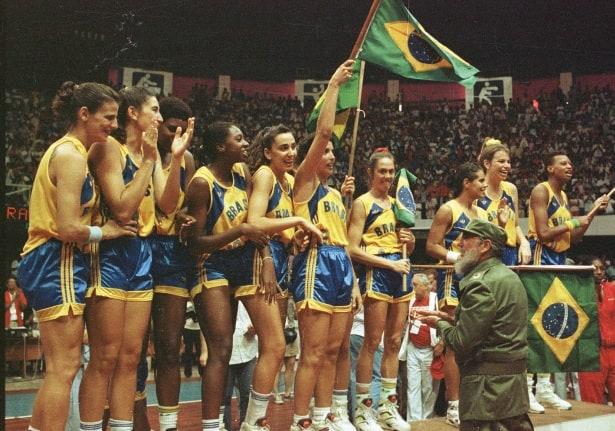 Em 1991 as meninas do Brasil foram campeãs do Pan-americano de Basquetebol em Havana